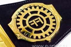 эмблема боковая на поясе чемпиона