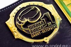 пояс чемпиона боковая эмблема