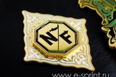 боковая эмблема для пояса чемпиона