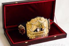 Чемпионский пояс подарок