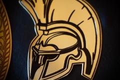 боковая эмблема чемпионский пояс