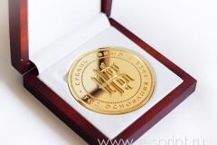 медаль в футляре на заказ