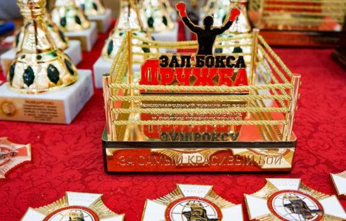 Награды для турнира по боксу