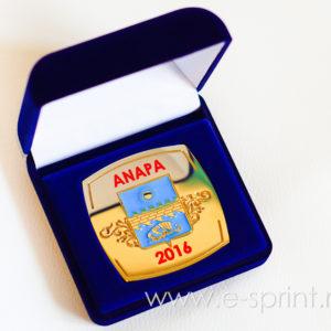 футляр с ложементом под медаль