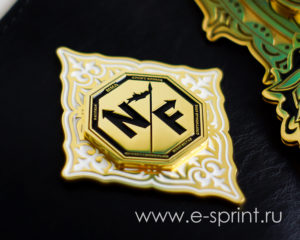 боковая эмблема пояс чемпиона