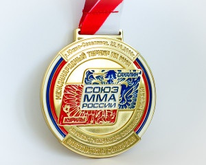 спортивная наградная медаль