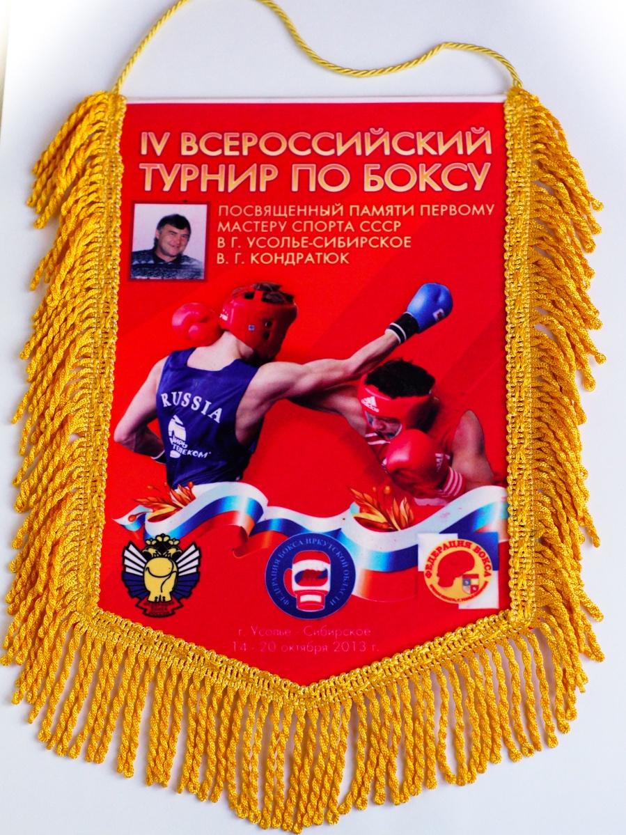Всероссийский турнир по боксу  в г. Усолье-Сибирское