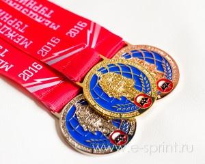 спортивный медаль