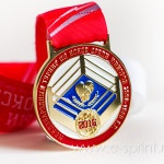 Медаль для турнира по боксу