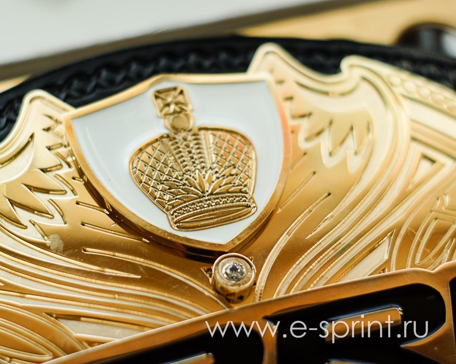 эмблема на поясе чемпиона