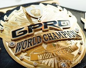 Центральная эмблема пояса чемпиона GPRO-19