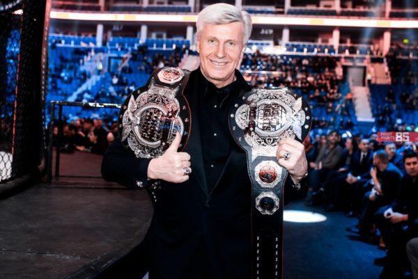 чемпионский пояс fight nights